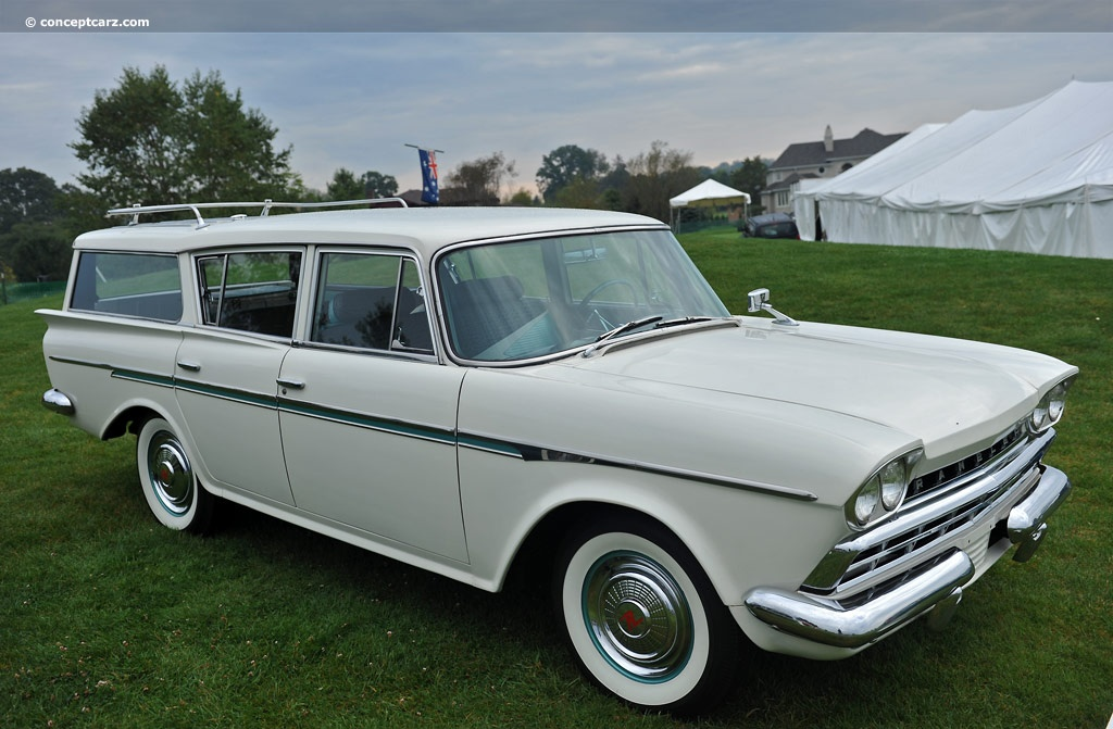 1958 American Motors Rambler 6 Information And Photos