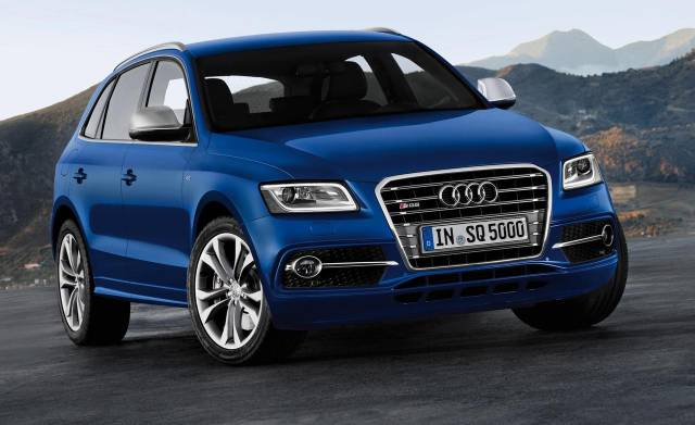 An improved Audi 2013 SQ5 crossover #9