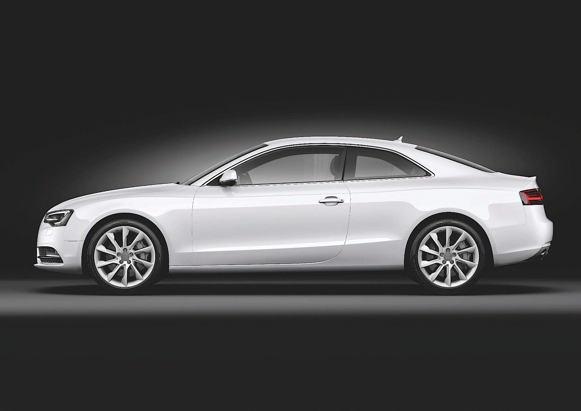 Walter da Silva announced Audi 2007 A5 Coupe as the best 2007' design creature #6