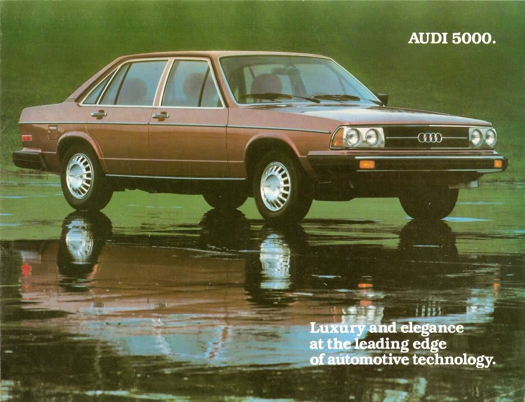 Audi 5000 - Information and photos - MOTcar