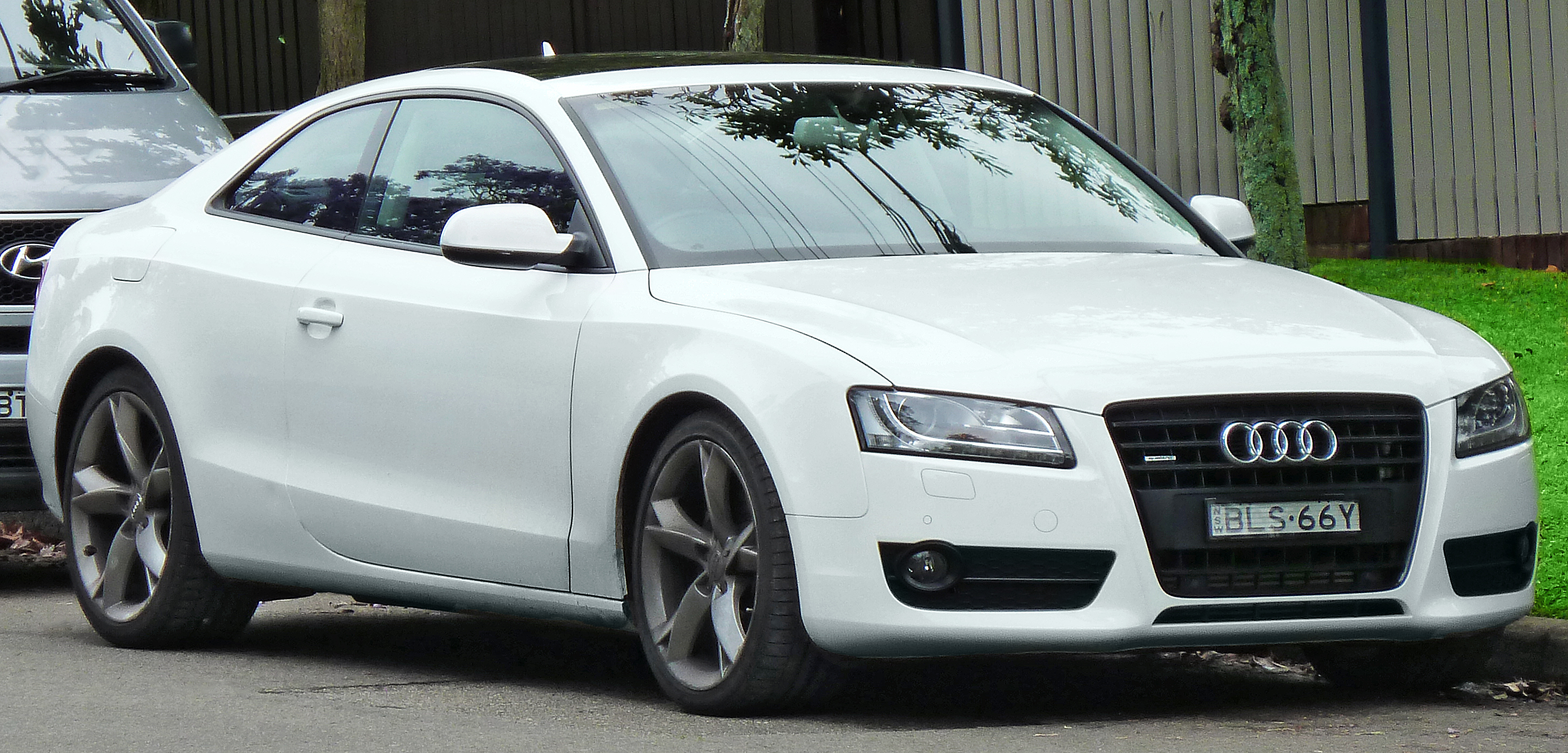 audi a5 coupe 2008