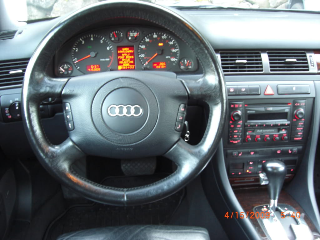 2001 audi a6 information and photos momentcar. Black Bedroom Furniture Sets. Home Design Ideas