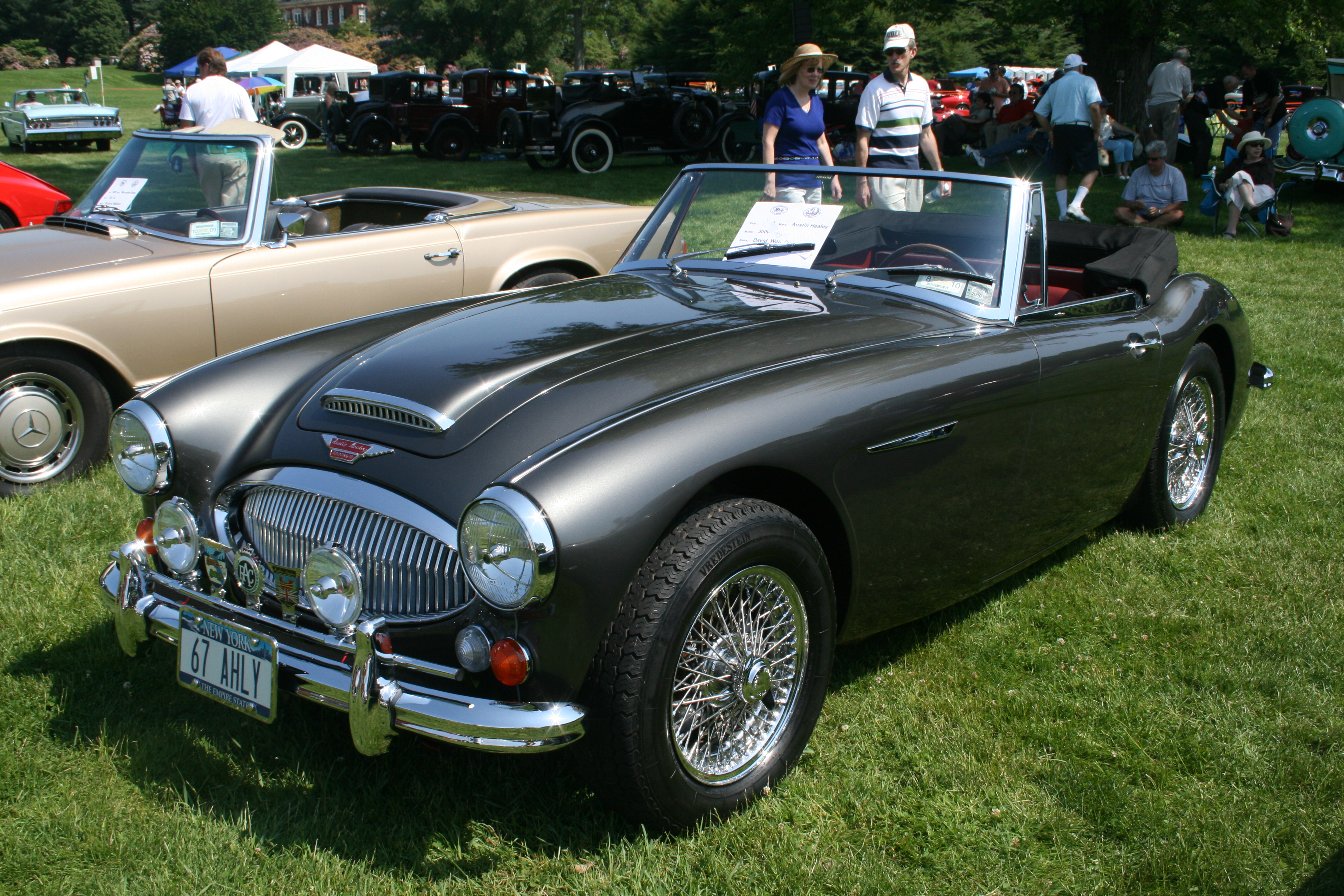 Austin Healey 3000 Information And Photos Momentcar
