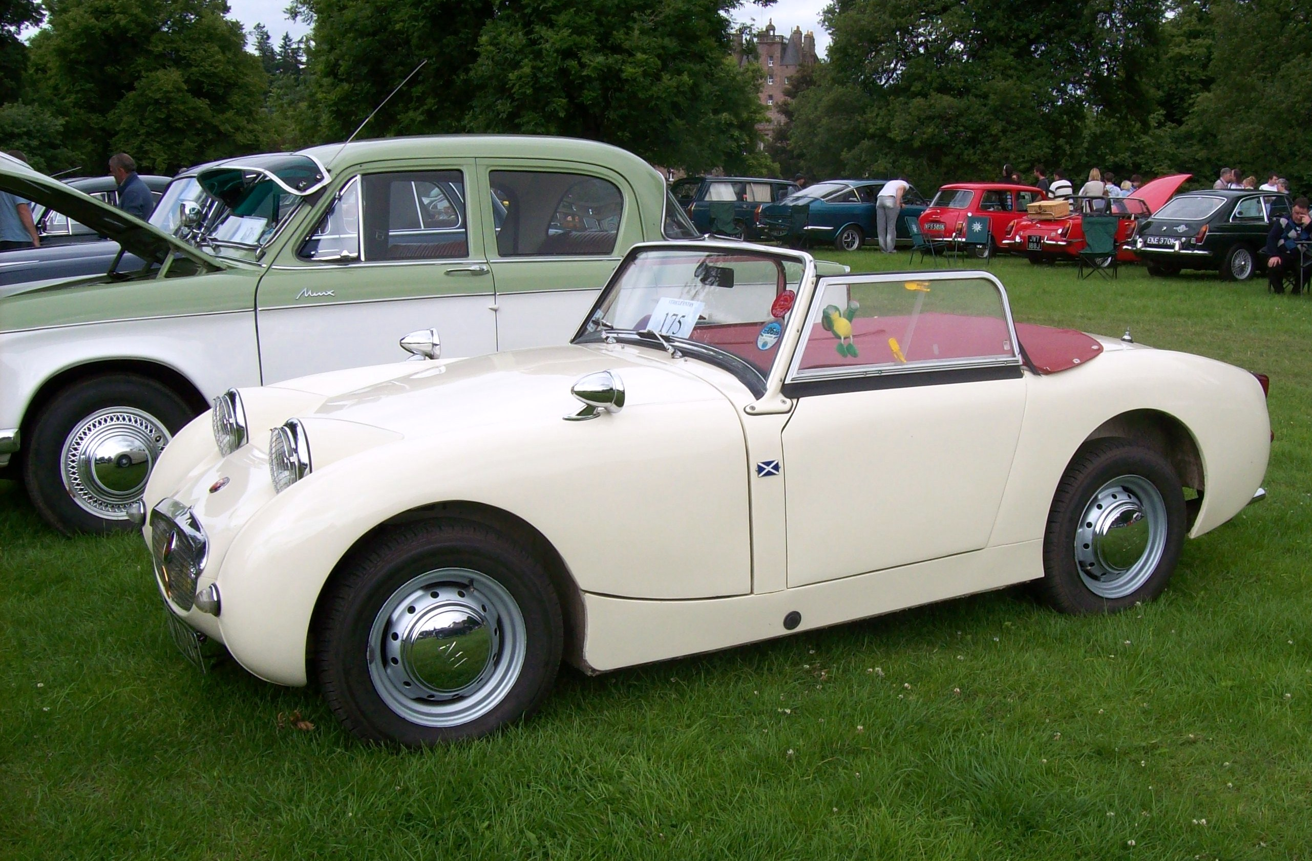 1958 Austin-Healey Sprite - Information and photos - MOMENTcar