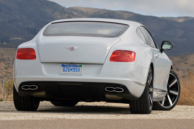 Bentley 2014 hit the market with the model of Bentley Continental GT V8 S #7
