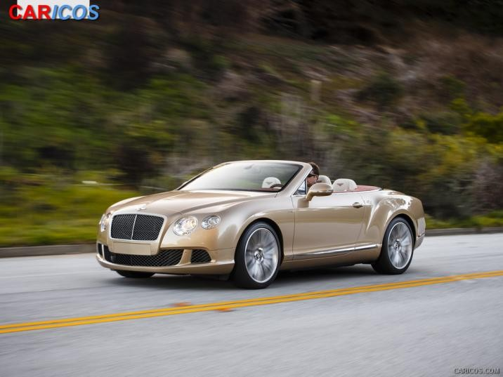 Bentley 2014 hit the market with the model of Bentley Continental GT V8 S #9