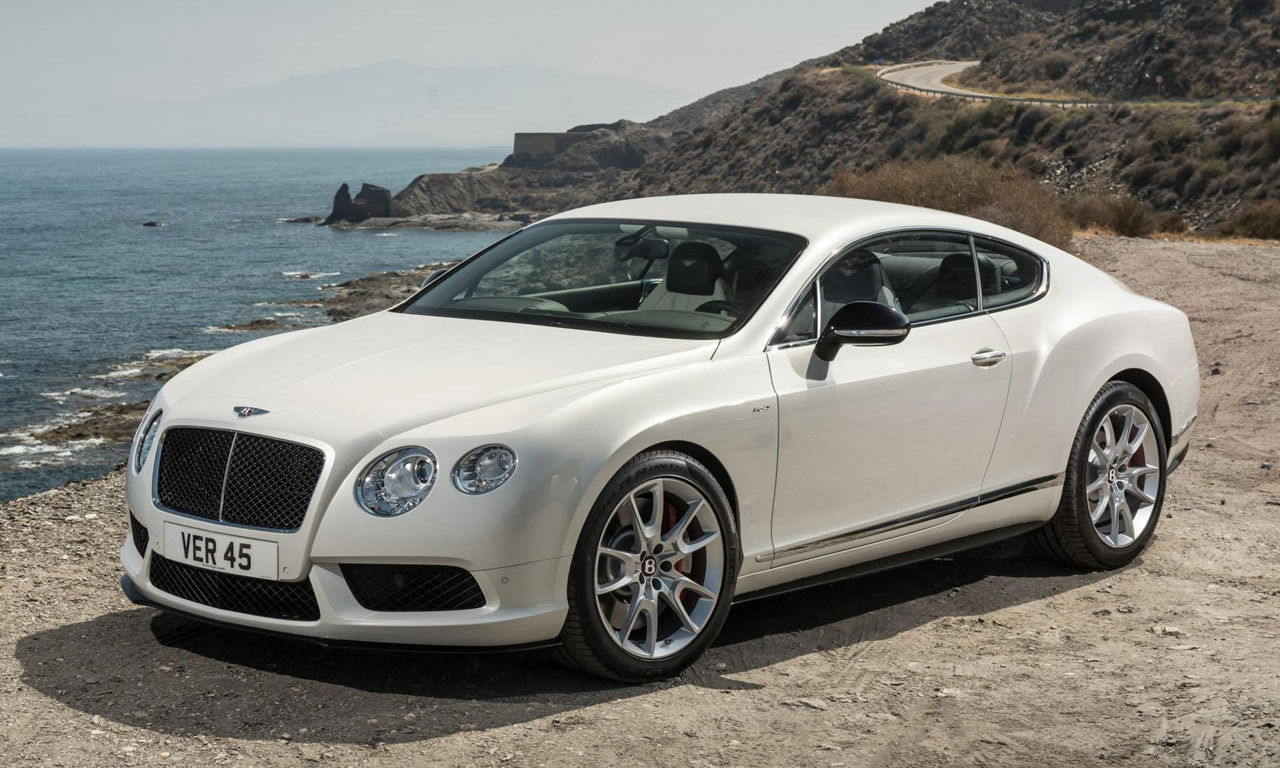 Bentley 2014 hit the market with the model of Bentley Continental GT V8 S #11