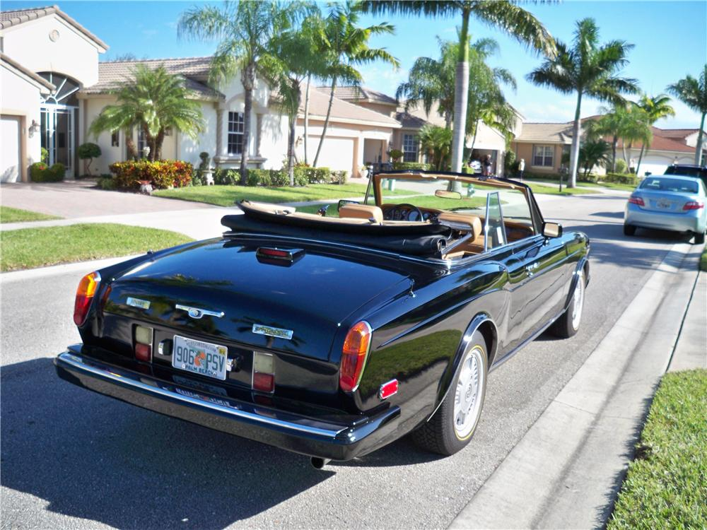 Bentley Continental 1988 #10