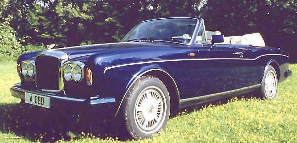 Bentley Continental 1988 #7