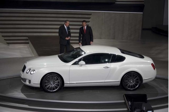 Bentley Continental GT 2008 #8