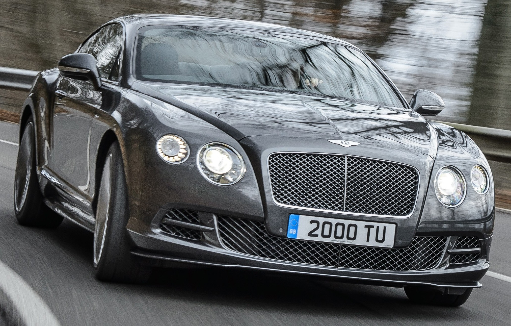 Bentley Continental GT Speed 2014 #11