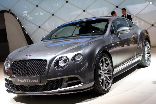Bentley Continental GT Speed 2014 #12