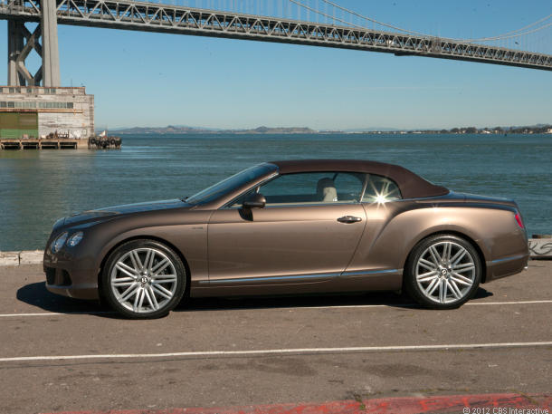 Bentley Continental GT Speed Convertible 2014 #1