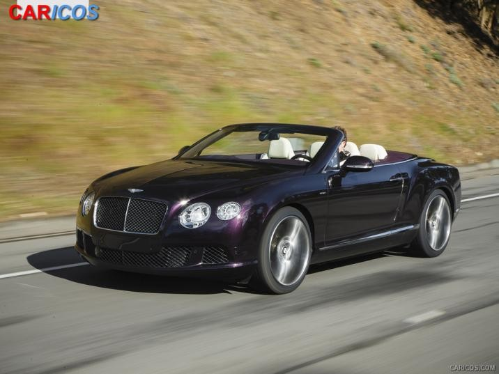 Bentley Continental GT Speed Convertible 2014 #2