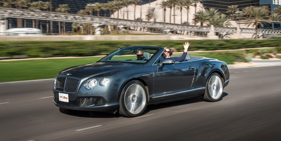 Bentley Continental GT Speed Convertible 2014 #3