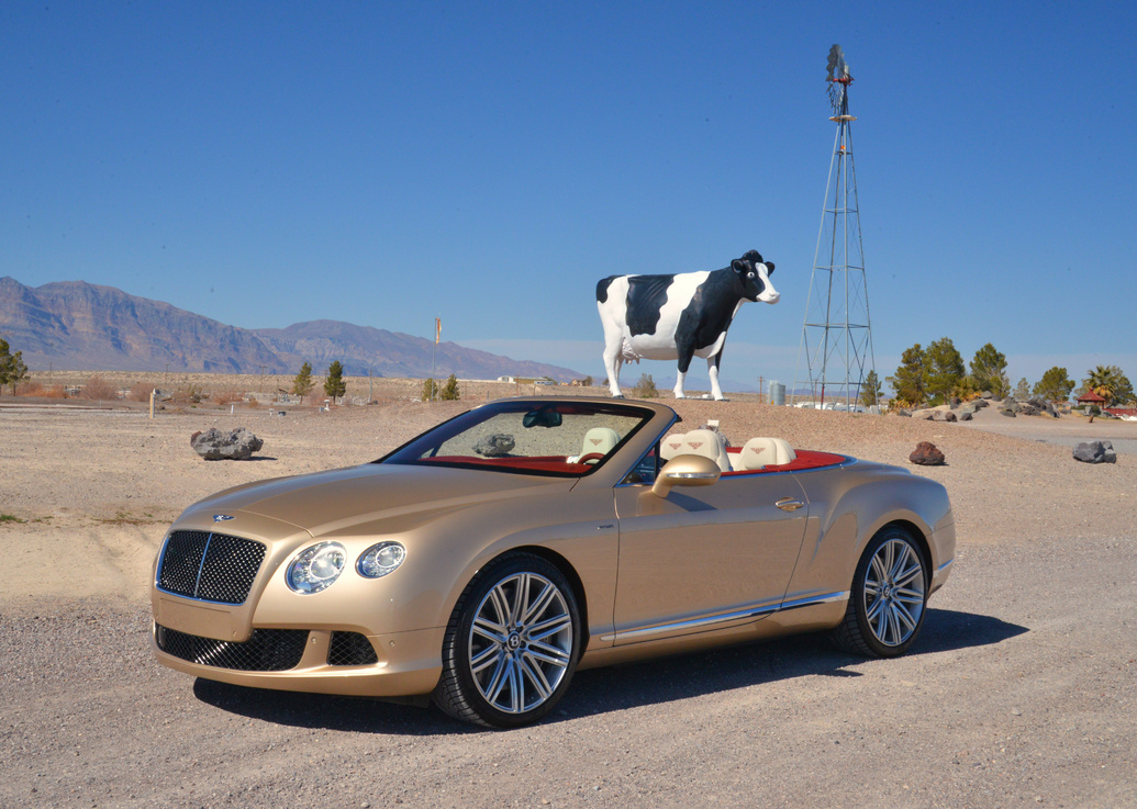 Bentley Continental GT Speed Convertible #6