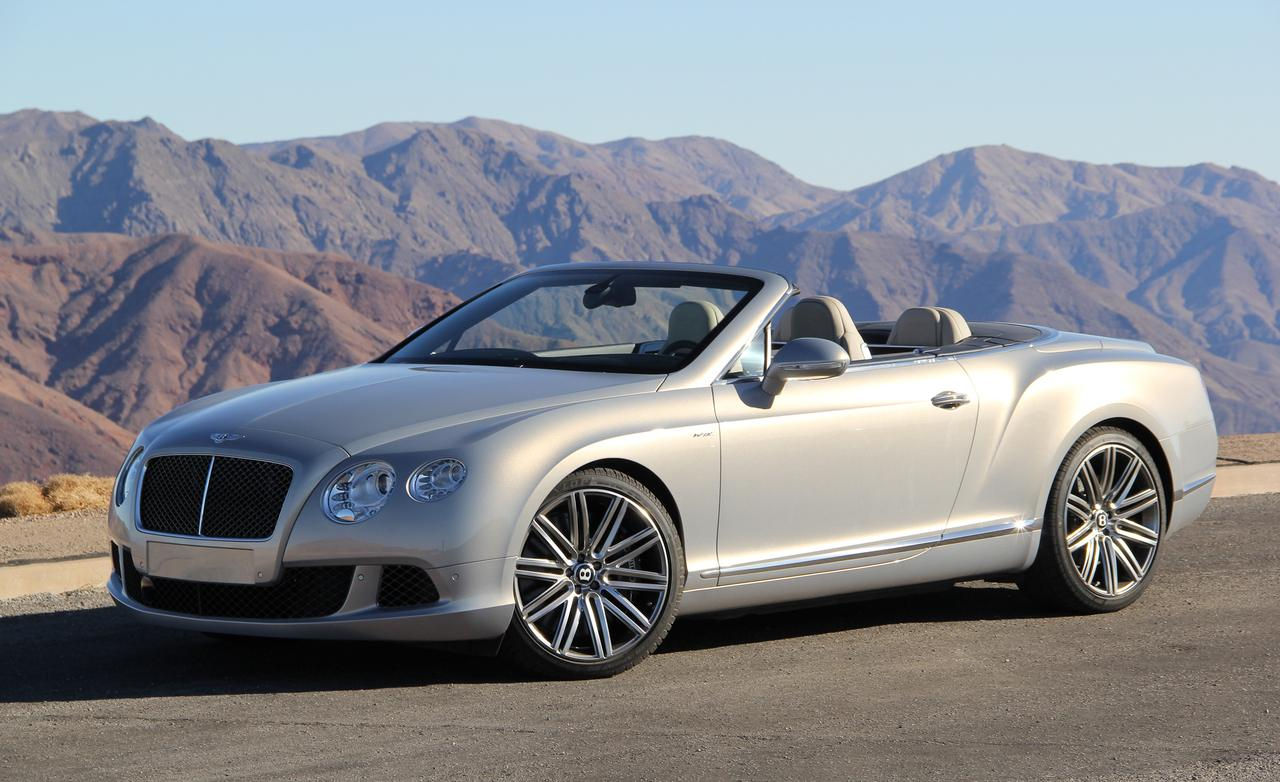 Bentley Continental GT Speed Convertible Base #7
