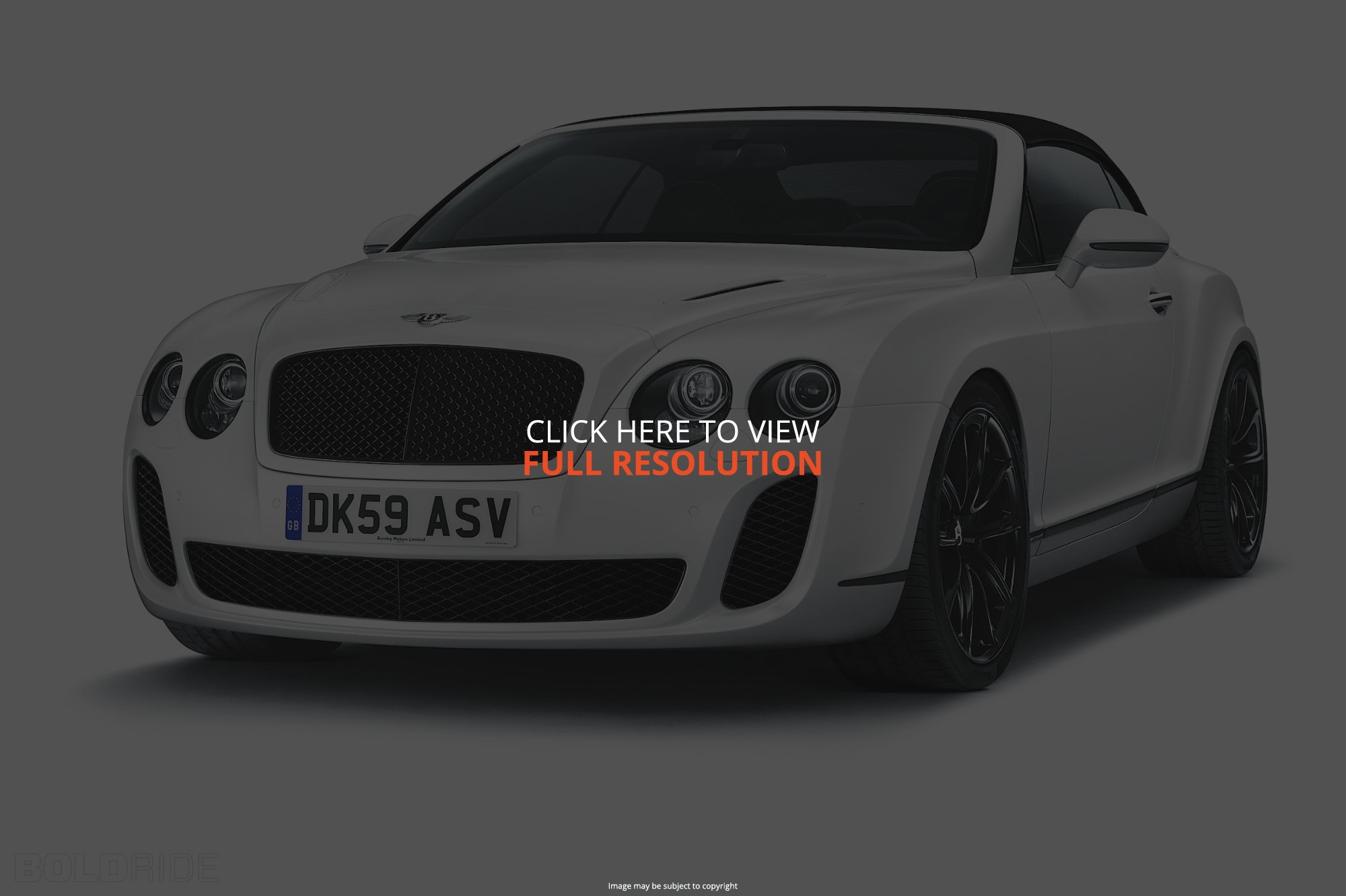 Bentley Continental Supersports 2011 #3