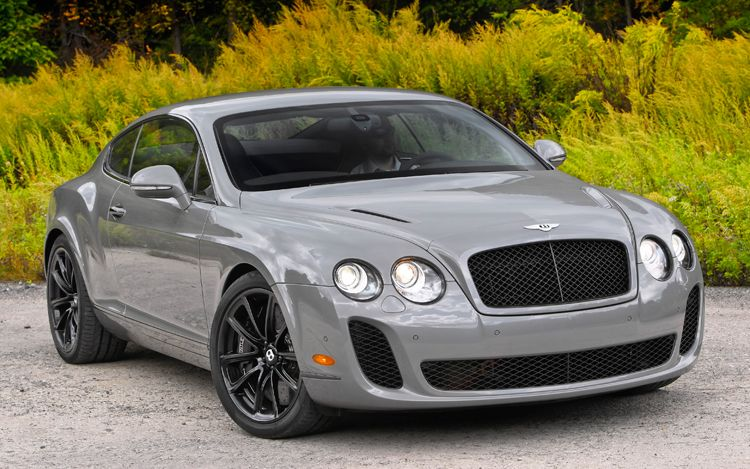 Bentley Continental Supersports Base #8