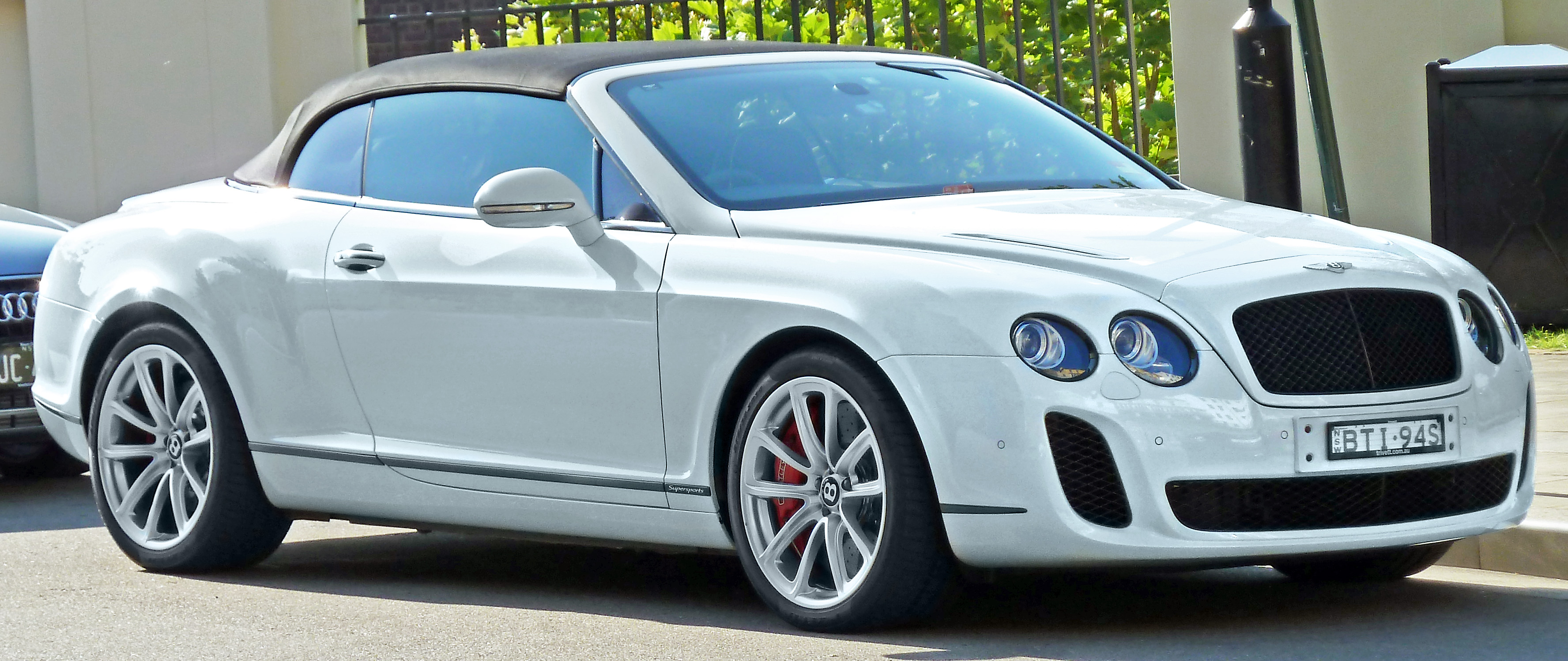 2011 Bentley Continental Supersports Convertible Information and