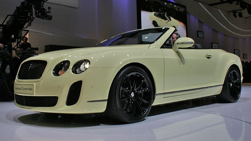 Bentley Continental Supersports Convertible 2011 #5