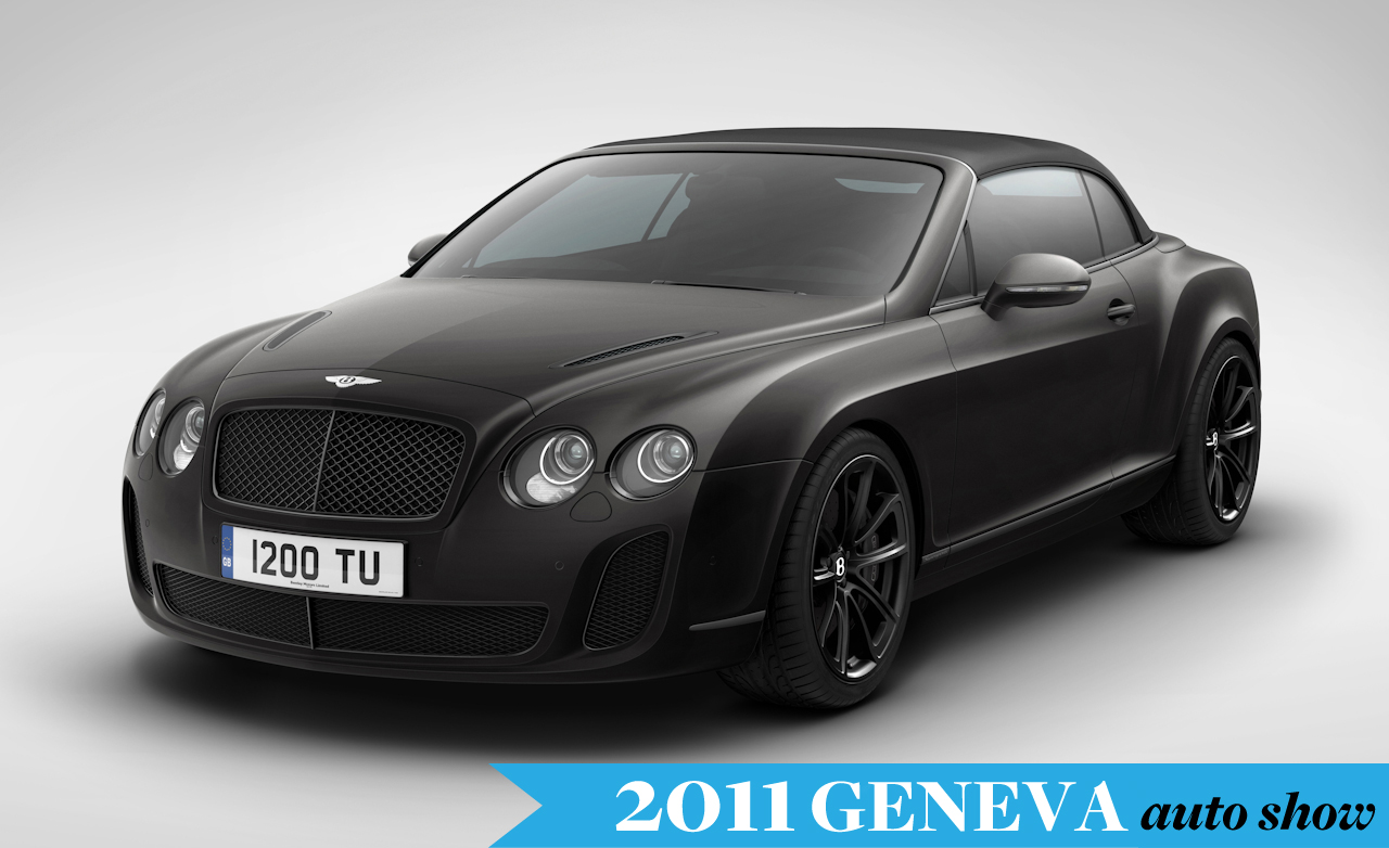 Bentley Continental Supersports Convertible 2011 #6