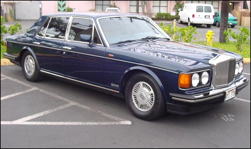 Bentley mulsanne 1985