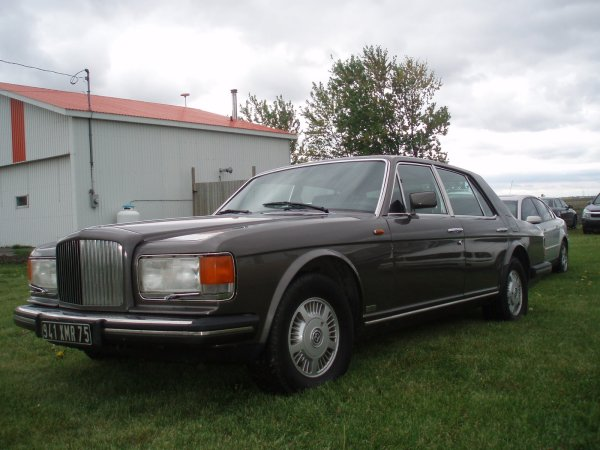 Bentley Mulsanne Turbo 1983 #5