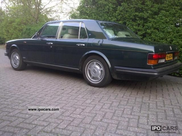 Bentley Mulsanne Turbo 1984 #5