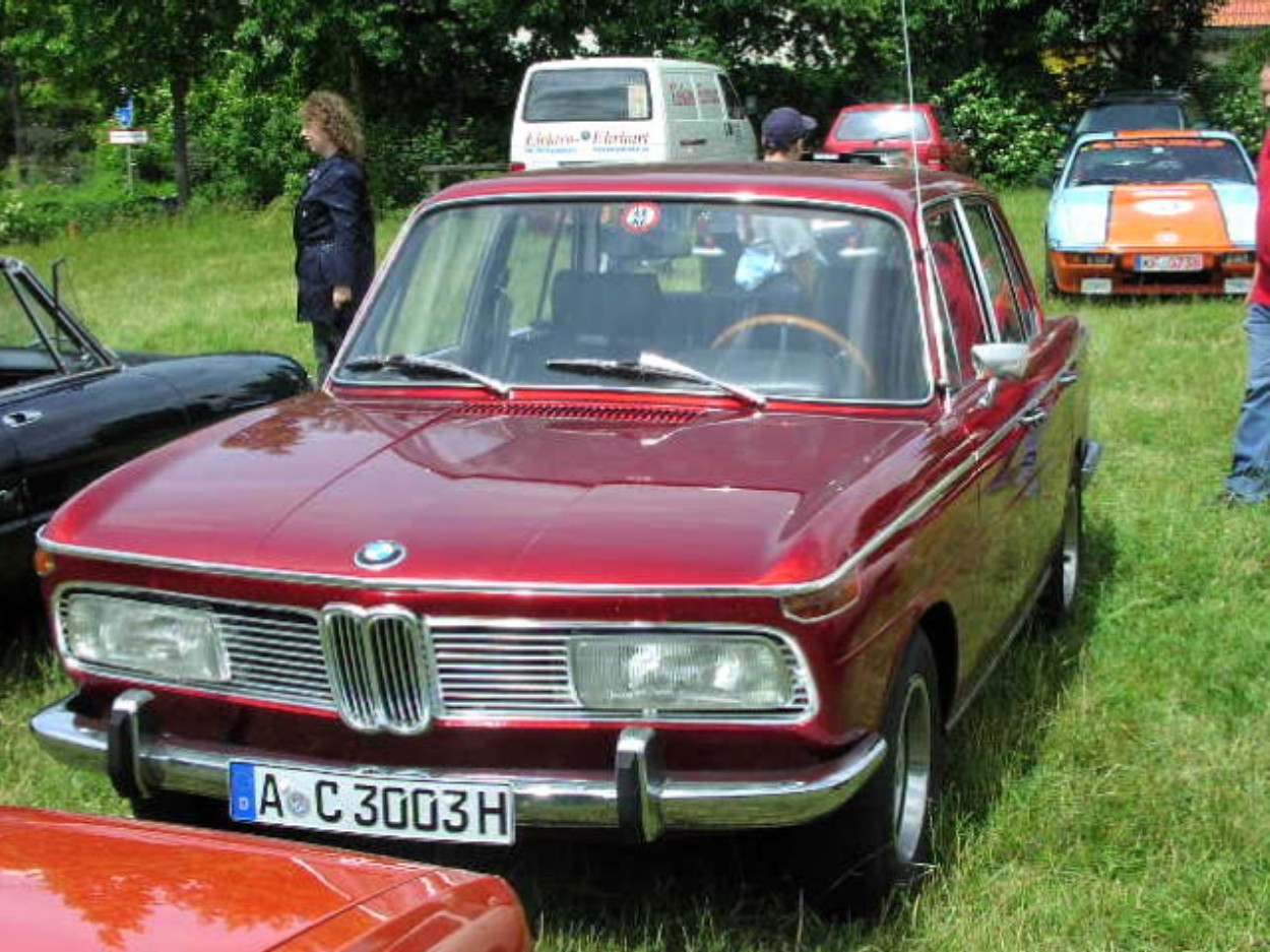 1966 Bmw 2000 - Information And Photos