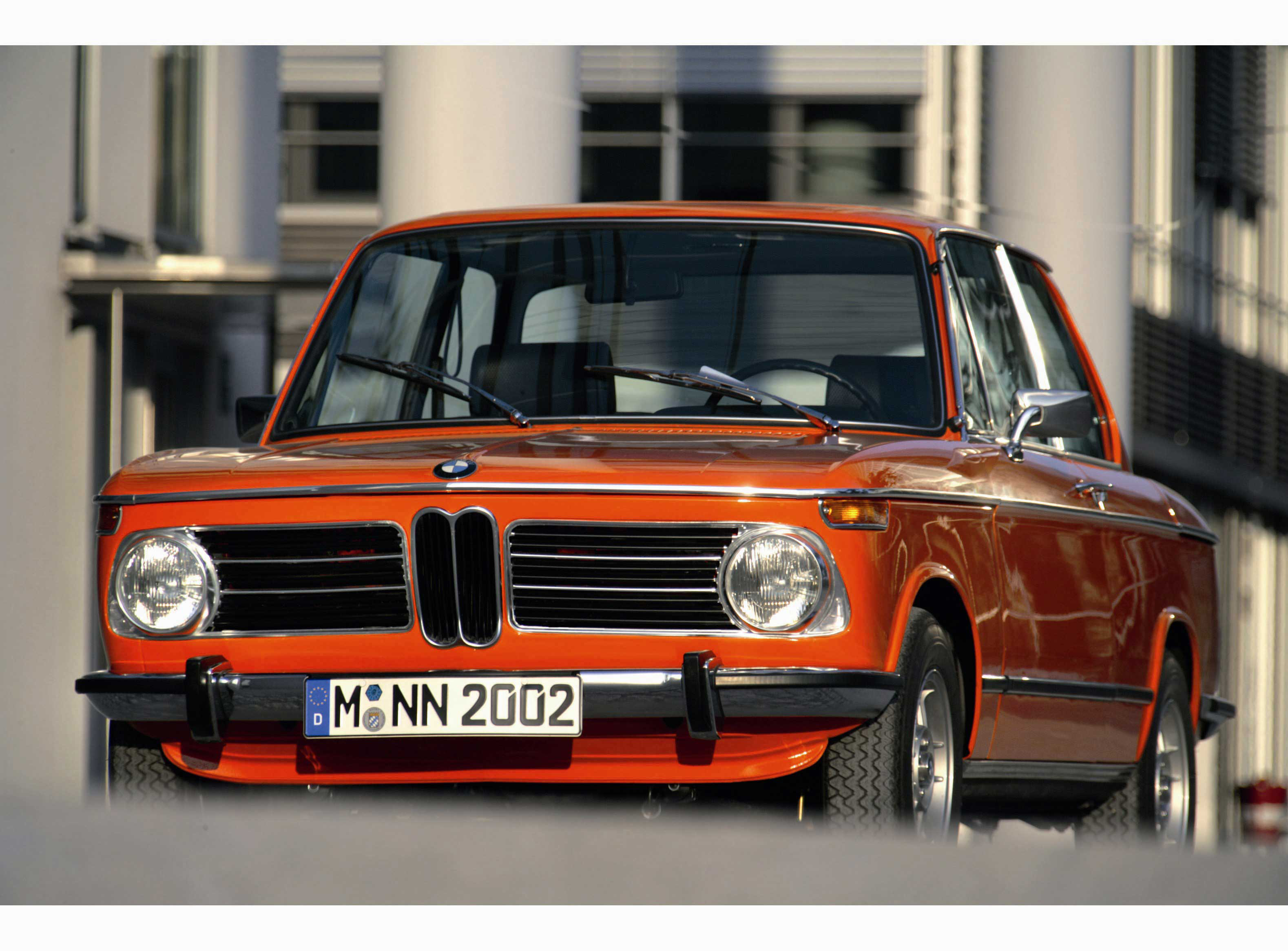 When the past becomes actual today with BMW 2002 1502 model #2