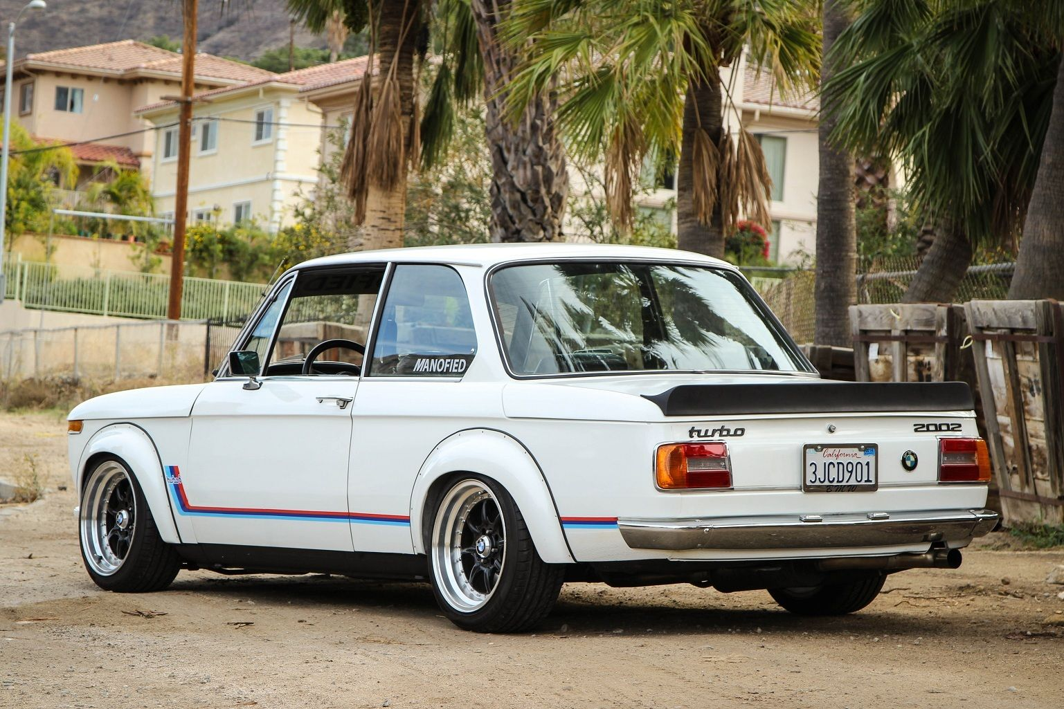 When the past becomes actual today with BMW 2002 1502 model #3