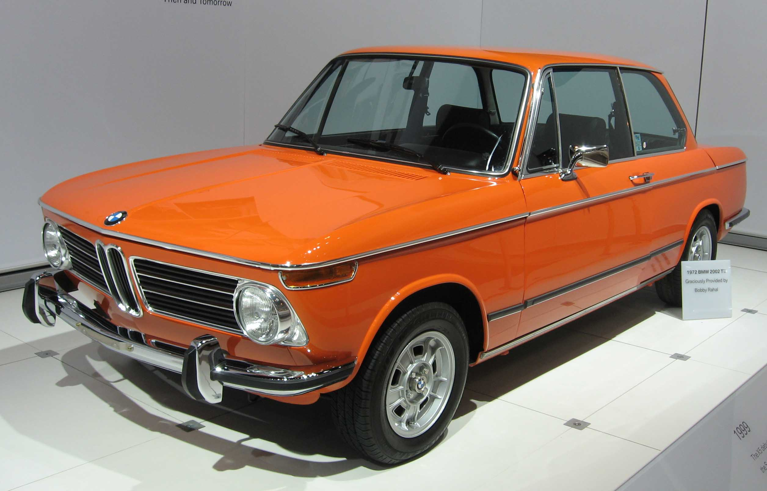 When the past becomes actual today with BMW 2002 1502 model #7