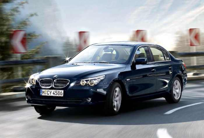2009 bmw 5 series information and photos momentcar. Black Bedroom Furniture Sets. Home Design Ideas