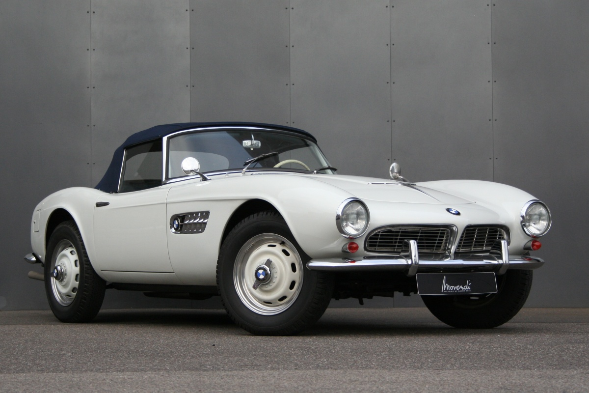 1958 Bmw 507 Information And Photos Momentcar