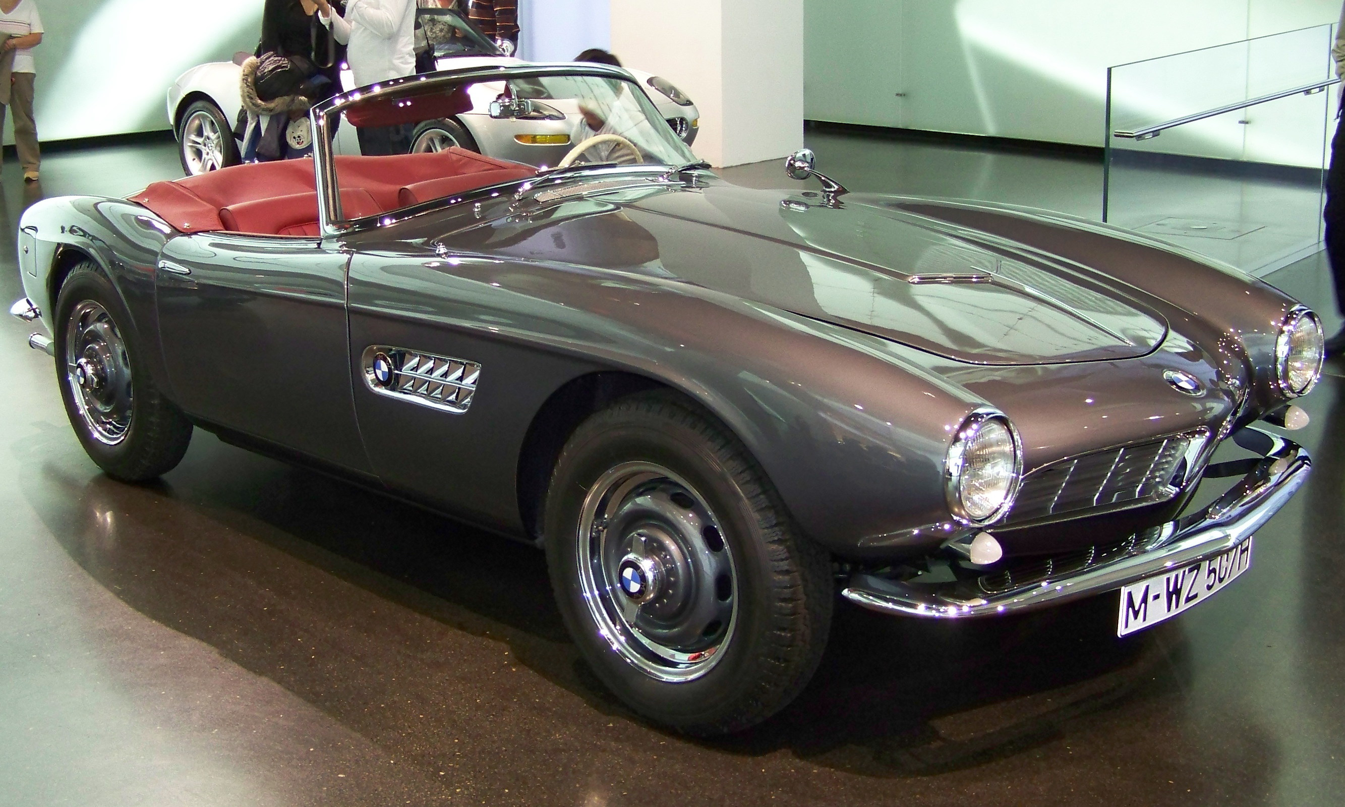 BMW 507 Roadster on 1193 html