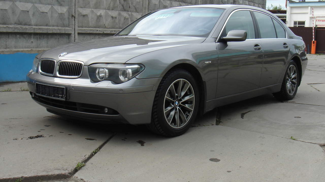 2003 Bmw 7 Series Information And Photos Momentcar