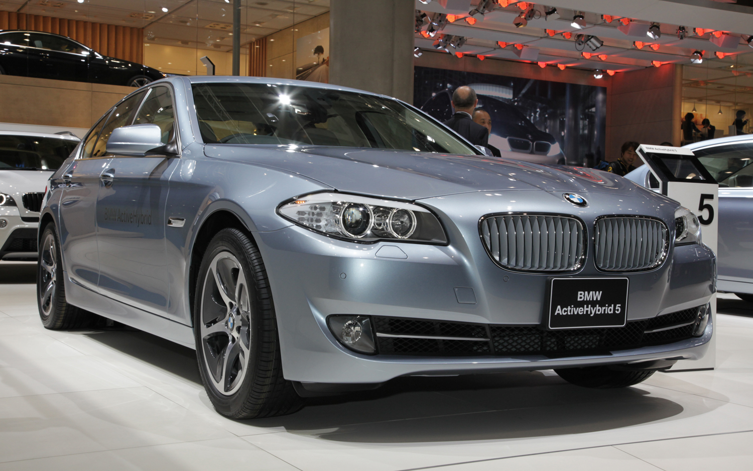 BMW ActiveHybrid 5 #12