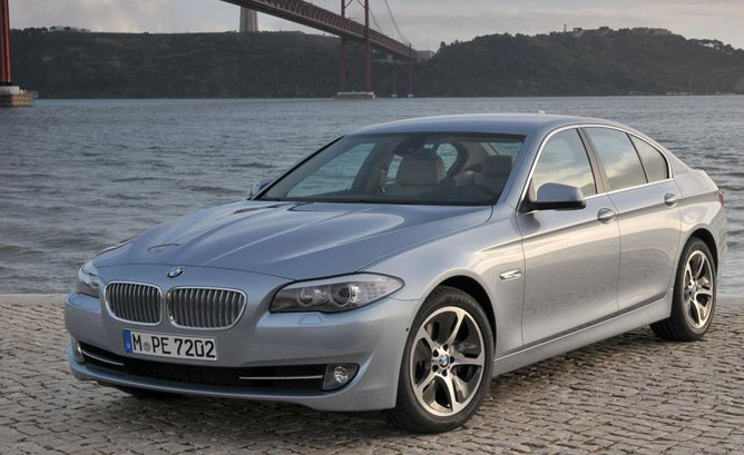BMW ActiveHybrid 5 #13