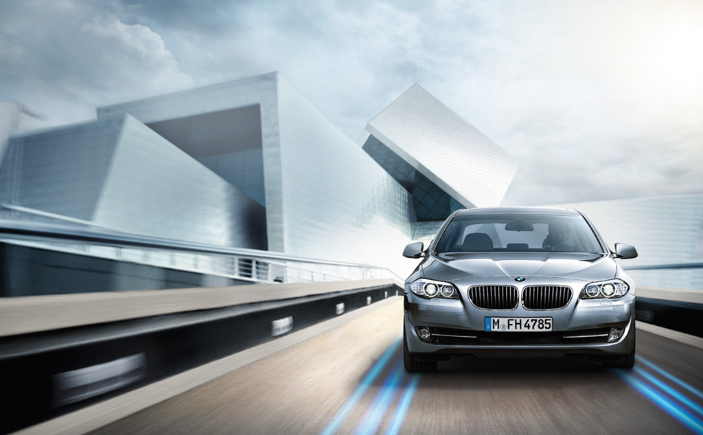 BMW ActiveHybrid 5 #9