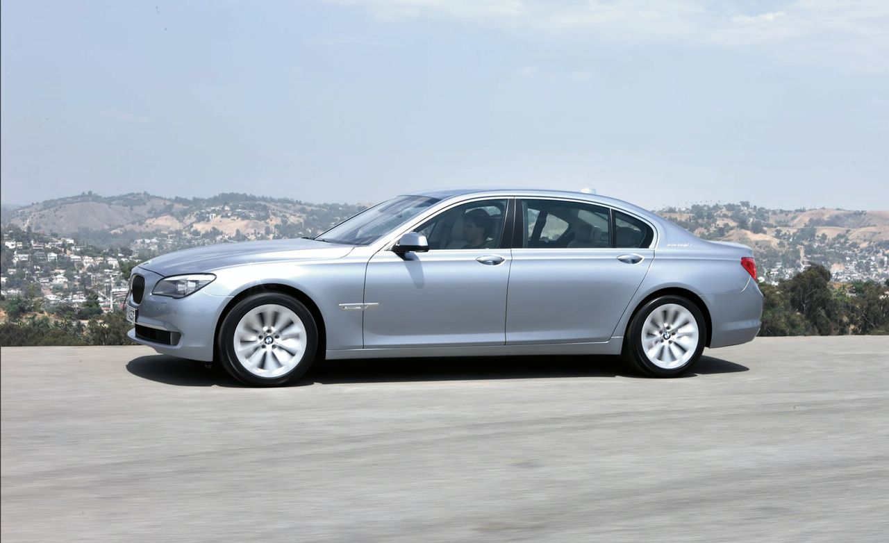 BMW ActiveHybrid 7 #9