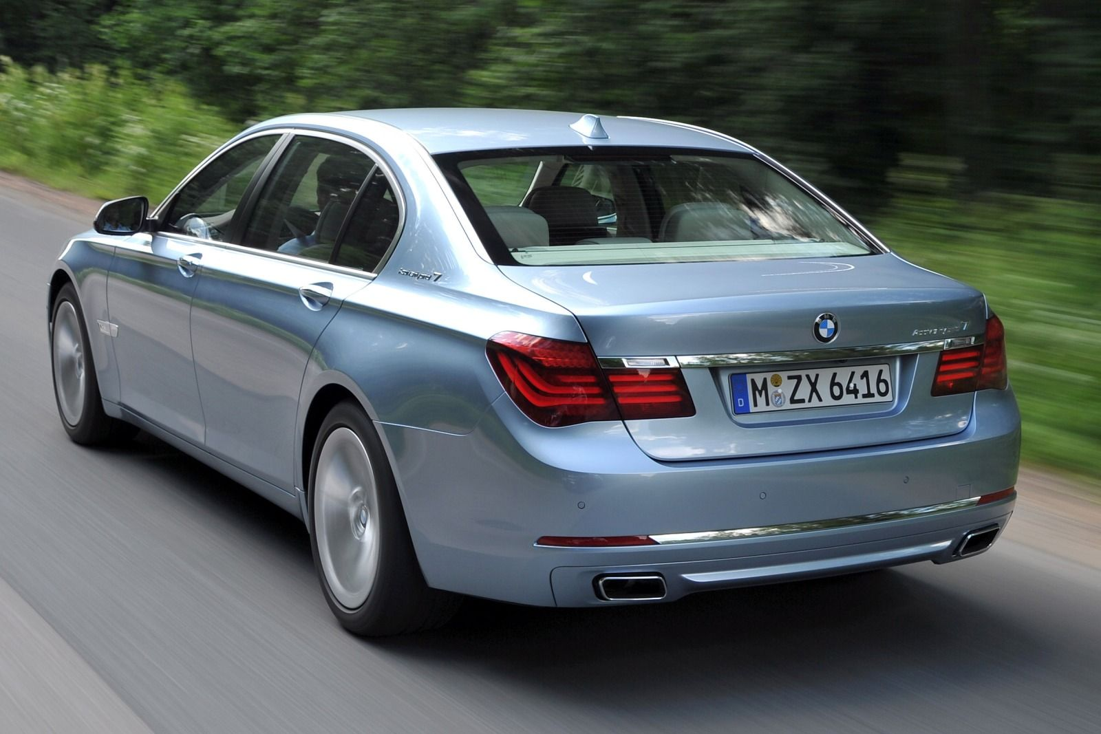 BMW ActiveHybrid 7 740Li #17