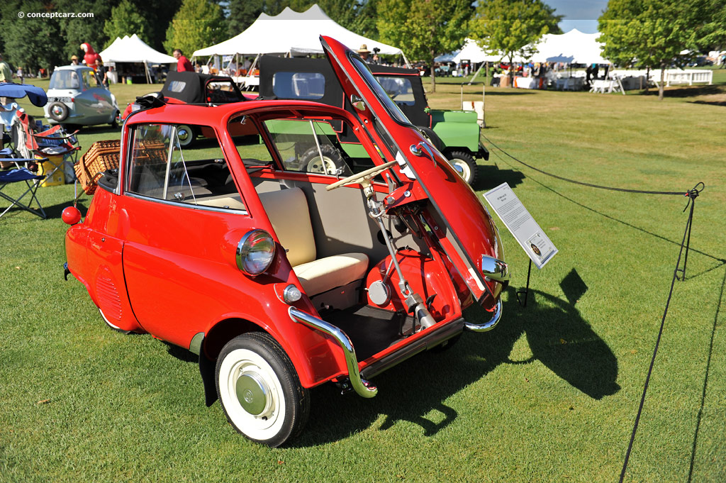 1957 Bmw Isetta Information And Photos Momentcar