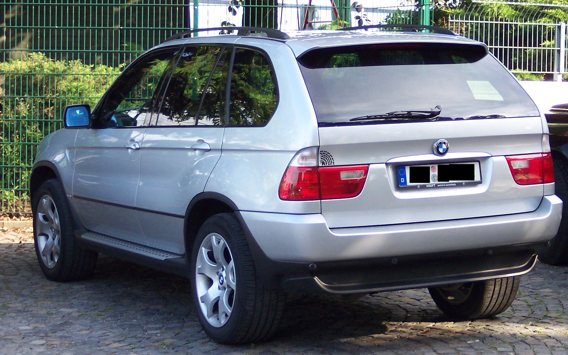 2005 bmw x5 information and photos momentcar. Black Bedroom Furniture Sets. Home Design Ideas