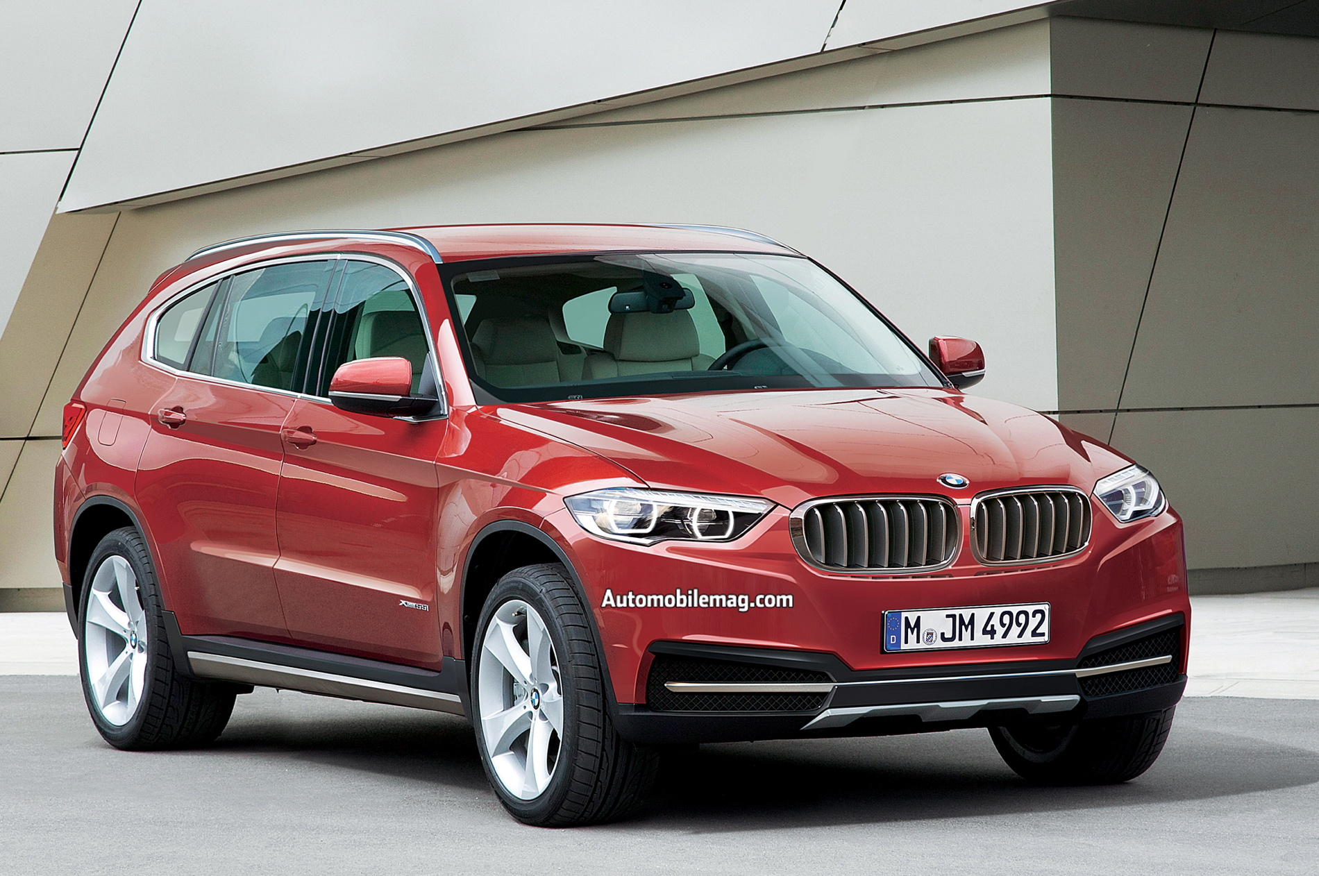 bmw x7 information and photos momentcar. Black Bedroom Furniture Sets. Home Design Ideas