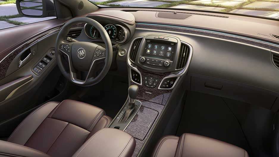 The world premiere of Buick 2014 LaCrosse sedan in New York #2