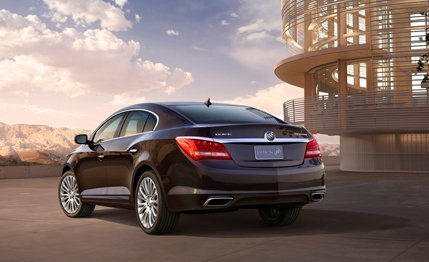 The world premiere of Buick 2014 LaCrosse sedan in New York #5