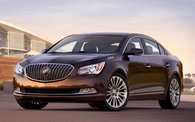 The world premiere of Buick 2014 LaCrosse sedan in New York #7
