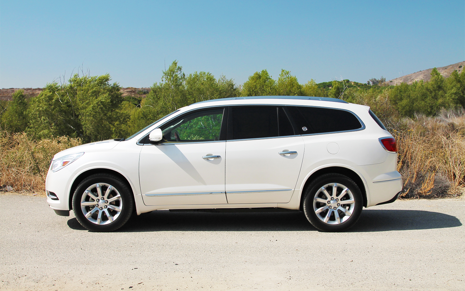 left driven news buick enclave automobile magazine view late side update