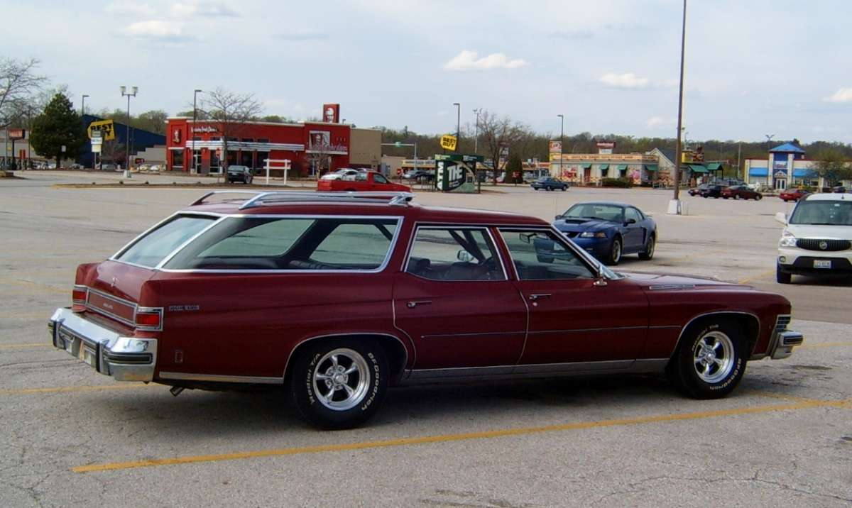 Buick Estate Wagon 1974 #15